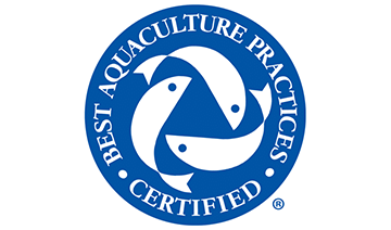 Certified for compliance with GAA/BAP plant standard.