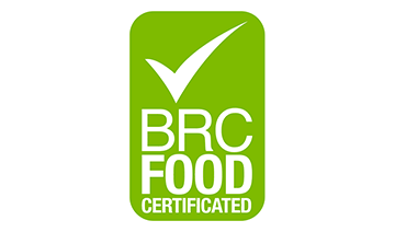 Certified for meeting the requirements of the Global Standard for Food Safety.