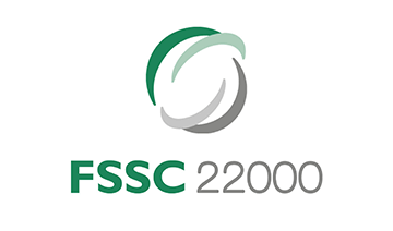 Internationally accepted certification scheme based on ISO 22000 sector-specific PRP and FSSC additional requirements.