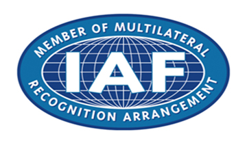 Accredited as per the independent evaluation of the world association of conformity assessment bodies against recognised international standards.